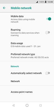 ZTE Blade V9 - Network - Change networkmode - Step 8