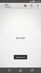 Sony Xperia Z2 (D6503) - E-mail - Sending emails - Step 16