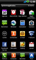 LG P990 Optimus 2X Speed - MMS - afbeeldingen verzenden - Stap 2