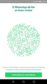 Huawei Mate 9 - Aplicações - Como configurar o WhatsApp -  5