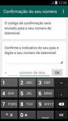 NOS NOVU - Aplicações - Como configurar o WhatsApp -  6