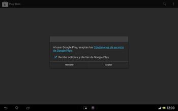 Sony Xperia Tablet Z - Aplicaciones - Tienda de aplicaciones - Paso 25