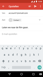 Android One GM6 - E-mail - hoe te versturen - Stap 8