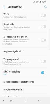 Samsung Galaxy S9 (SM-G960F) - Bluetooth - Aanzetten - Stap 4