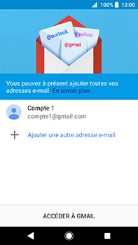 Sony Xperia XA2 Ultra - E-mail - Configuration manuelle (gmail) - Étape 15