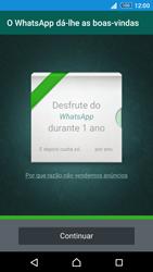Sony Xperia Z3 Plus - Aplicações - Como configurar o WhatsApp -  10