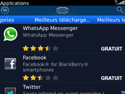BlackBerry 8520 - Applications - Télécharger une application - Étape 10