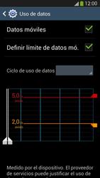 Samsung Galaxy S4 - Internet - Ver uso de datos - Paso 12