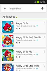 Samsung Galaxy Fame - Aplicações - Como pesquisar e instalar aplicações -  16