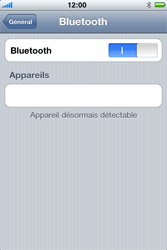 Apple iPhone 4 - Bluetooth - connexion Bluetooth - Étape 10