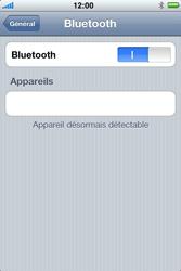 Apple iPhone 4 - Bluetooth - Jumeler avec un appareil - Étape 8
