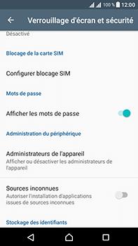 Sony Xperia L1 - Sécuriser votre mobile - Personnaliser le code PIN de votre carte SIM - Étape 5