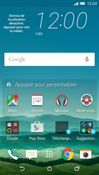 HTC One M9 - Internet - Sites web les plus populaires - Étape 1