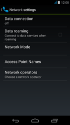 Acer Liquid Z500 - Internet - Enable or disable - Step 8
