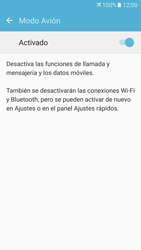 Samsung Galaxy S7 - Funciones básicas - Activar o desactivar el modo avión - Paso 6