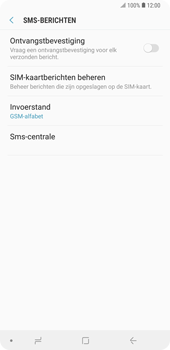 Samsung galaxy-note-9-sm-n960f - SMS - SMS-centrale instellen - Stap 10