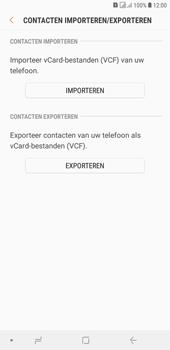 Samsung galaxy-j4-plus-dual-sim-sm-j415fn - Contacten en data - Contacten kopiëren van toestel naar SIM - Stap 8