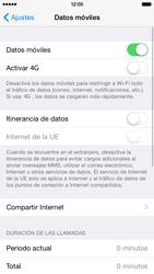 Apple iPhone 6 iOS 8 - Internet - Activar o desactivar la conexión de datos - Paso 4