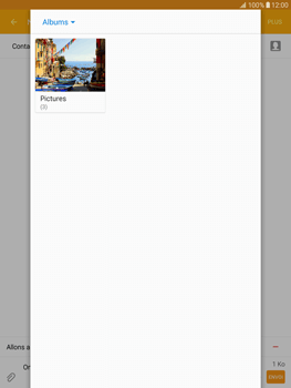 Samsung T815 Galaxy Tab S2 9.7 - MMS - Envoi d