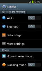 Samsung I9105P Galaxy S II Plus - Internet - Manual configuration - Step 4