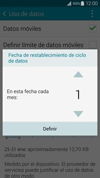 Samsung N910F Galaxy Note 4 - Internet - Ver uso de datos - Paso 7