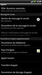 HTC Z710e Sensation - Messagerie vocale - configuration manuelle - Étape 6