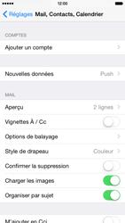 Apple iPhone 6 iOS 8 - E-mails - Ajouter ou modifier un compte e-mail - Étape 4