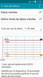 Samsung A500FU Galaxy A5 - Internet - Ver uso de datos - Paso 11