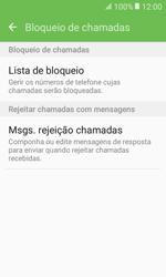 Samsung Galaxy Xcover 3 (G389) - Chamadas - Bloquear chamadas de um número -  7