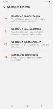 Samsung galaxy-a6-plus-sm-a605fn-ds-android-pie - Contacten en data - Contacten kopiëren van SIM naar toestel - Stap 6