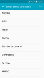 Samsung Galaxy A3 (2016) - Internet - Configurar Internet - Paso 9