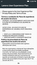 Lenovo Vibe K5 - Primeiros passos - Como ativar seu aparelho - Etapa 12