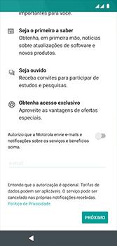 Motorola Moto G7 - Primeiros passos - Como ativar seu aparelho - Etapa 18