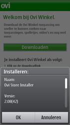 Nokia N8-00 - Applicaties - Applicaties downloaden - Stap 5