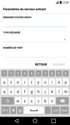 LG LG G5 - E-mail - Configuration manuelle - Étape 11