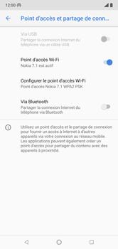 Nokia 7.1 - Internet et connexion - Partager votre connexion en Wi-Fi - Étape 10