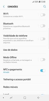Samsung Galaxy S9 - Internet no telemóvel - Como configurar ligação à internet -  5