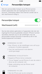 Apple iPhone 8 - iOS 13 - Internet - mijn data verbinding delen - Stap 8