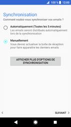 Sony Xperia XZ1 - E-mails - Ajouter ou modifier un compte e-mail - Étape 21