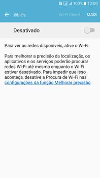 Samsung Galaxy On 7 - Wi-Fi - Como configurar uma rede wi fi - Etapa 5