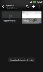 HTC Desire 500 - Internet - Navigation sur Internet - Étape 12
