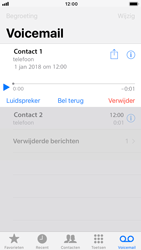 Apple iPhone 8 (Model A1905) - Voicemail - Visual Voicemail - Stap 19