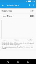 Sony Xperia M4 Aqua - Internet - Activar o desactivar la conexión de datos - Paso 7