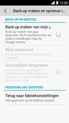 Huawei Ascend Y530 - Toestel reset - terugzetten naar fabrieksinstellingen - Stap 4