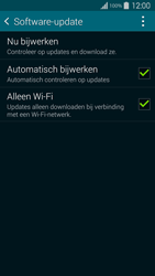 Samsung Galaxy S5 G900F - Netwerk - Software updates installeren - Stap 7