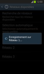 Samsung S7390 Galaxy Trend Lite - Réseau - Sélection manuelle du réseau - Étape 9