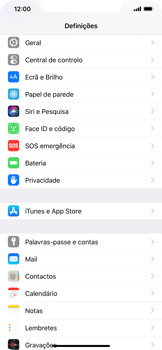 Apple iPhone XS Max - Email - Configurar a conta de Email -  4
