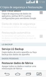 LG D295 G2 Lite - Funções básicas - Como restaurar as configurações originais do seu aparelho - Etapa 9