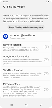 Samsung galaxy-s9-plus-android-pie - Device - Enable Find my Phone - Step 6