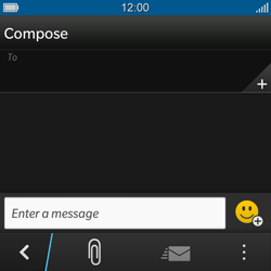 BlackBerry Q10 - MMS - Sending pictures - Step 4